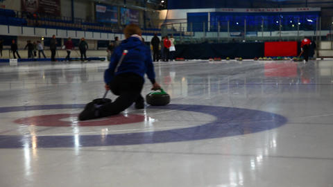 Curling Footage