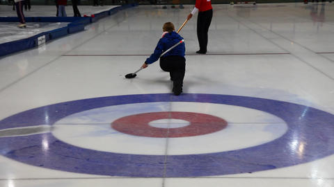 Curling Stock Video Footage