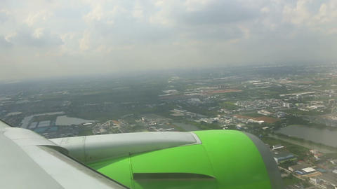 Approaching Bangkok Footage