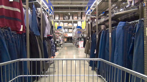 In the store Stock Video Footage