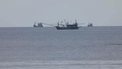 Sea vessels Stock Video Footage