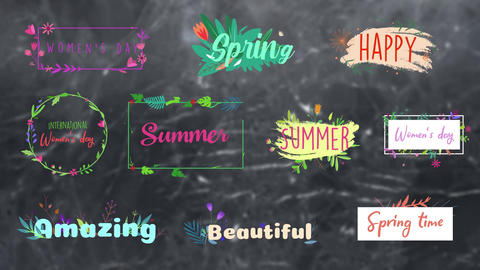 Flower Titles
