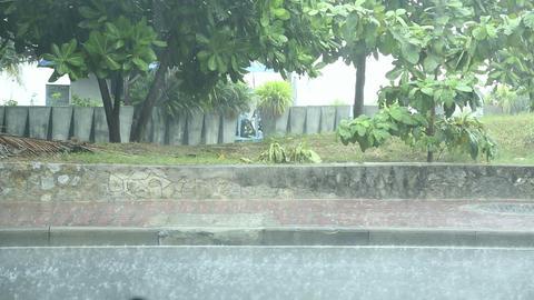 Heavy rain Footage