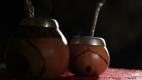 Yerba mate Stock Video Footage