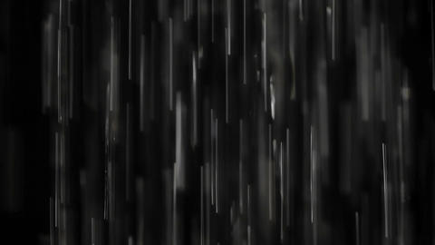 Rain on black. Clip 5 Footage