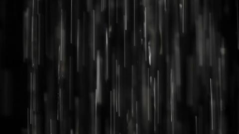 Rain on black. Clip 5 Footage