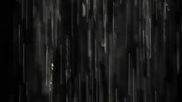 Rain on black. Clip 5 Stock Video Footage