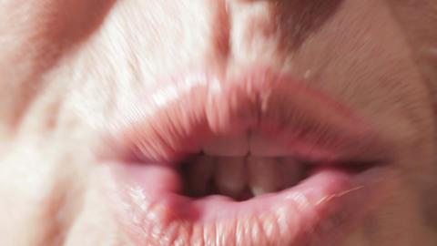 Study of English phonetics. Sound we pronunciation Stock Video Footage