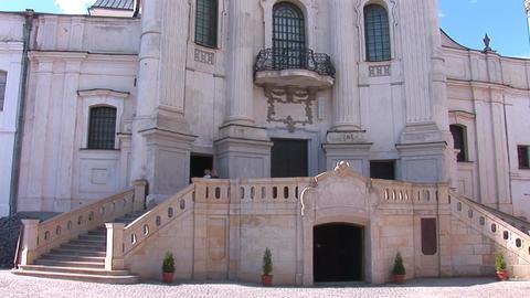 Fortified Carmelite monastery g Footage