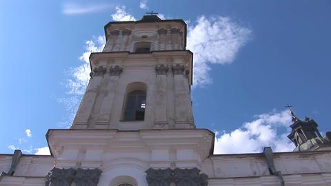 Fortified Carmelite monastery k Footage