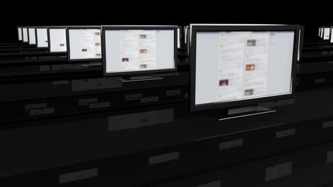 4 K Social Media Spy Room 1 Stock Video Footage