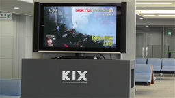 Boston Marathon Massacre News on TV in Kanasai Air Stock Video Footage