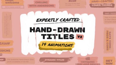Hand Drawn Brush Titles 2