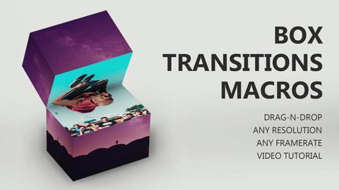 Drag-N-Drop Box Transitions