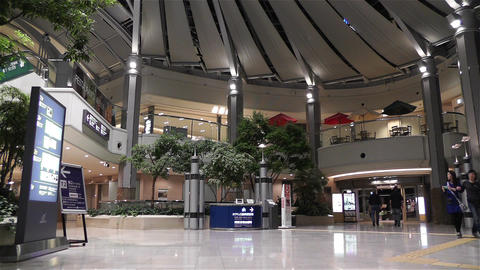 Kansai Airport Aeroplaza Osaka Japan 4 Stock Video Footage