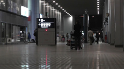 Kansai Airport Osaka Japan 2 night Stock Video Footage