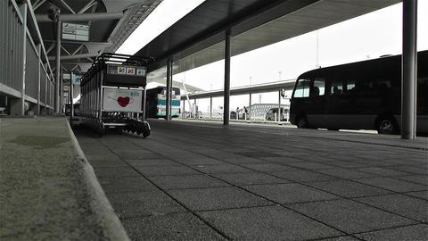 Kansai Airport Osaka Japan 8 Stock Video Footage