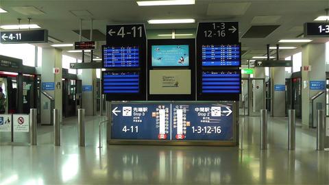 Kansai Airport Osaka Japan 10 handheld Stock Video Footage