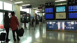 Kansai Airport Osaka Japan 11 handheld Stock Video Footage