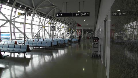 Kansai Airport Osaka Japan 16 Stock Video Footage