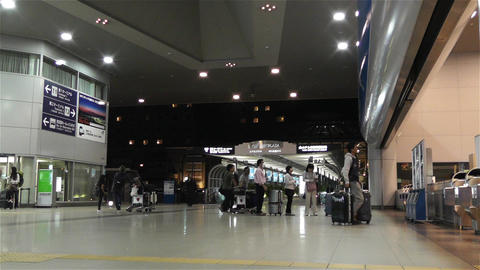 Kansai Airport Railway Station Osaka Japan 2 Footage