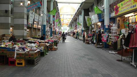 Market in Okinawa Islands Ishigakijima 4 Footage