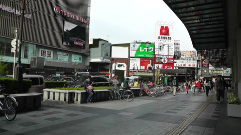 Namba District Osaka Japan 1 Stock Video Footage