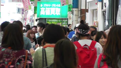 Namba District Osaka Japan 9 Footage