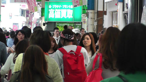 Namba District Osaka Japan 9 Stock Video Footage
