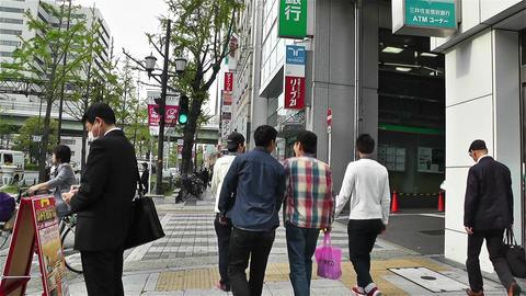Namba District Osaka Japan 11 Stock Video Footage