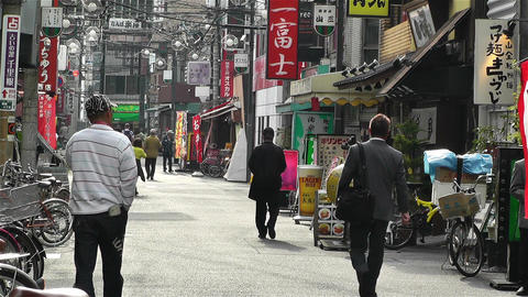 Namba District Osaka Japan 13 Stock Video Footage