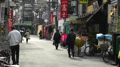Namba District Osaka Japan 13 Footage