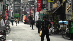 Namba District Osaka Japan 13 Stock Video Footage
