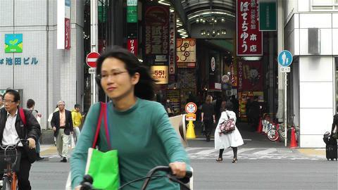 Namba District Osaka Japan 15 Footage