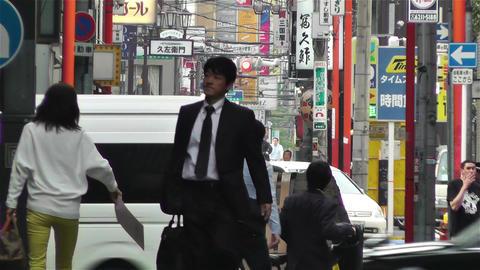 Namba District Osaka Japan 17 Footage