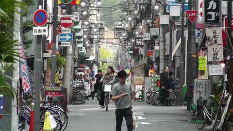 Namba District Osaka Japan 24 Stock Video Footage