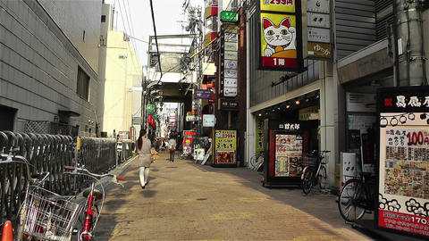 Namba District Osaka Japan 31 Footage