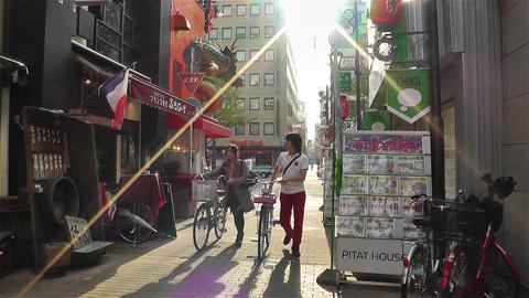 Namba District Osaka Japan 33 Footage