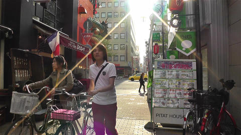 Namba District Osaka Japan 33 Stock Video Footage