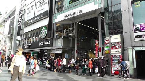 Namba District Osaka Japan 35 Stock Video Footage