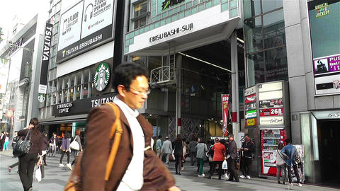 Namba District Osaka Japan 35 Stock Video Footage