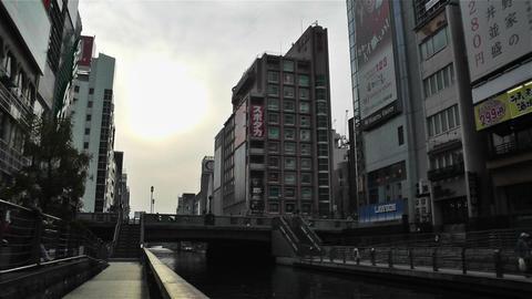 Namba District Osaka Japan 47 Stock Video Footage