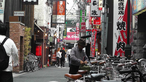 Namba District Osaka Japan 60 Stock Video Footage