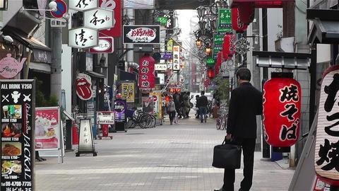Namba District Osaka Japan 64 Stock Video Footage