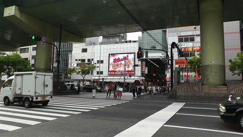 Namba District Osaka Japan 66 Stock Video Footage