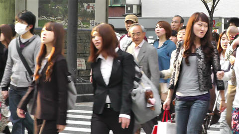 Namba District Osaka Japan 68 Stock Video Footage