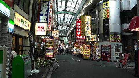 Namba District Osaka Japan 70 Stock Video Footage