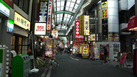 Namba District Osaka Japan 70 Footage