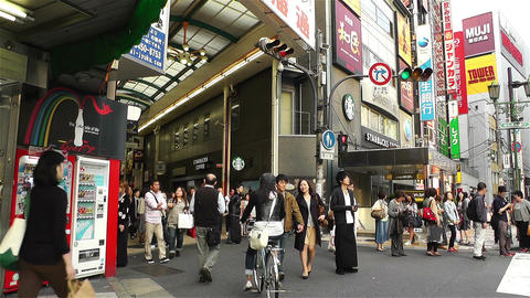 Namba District Osaka Japan 76 Stock Video Footage