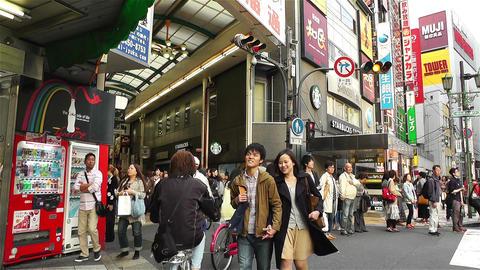 Namba District Osaka Japan 76 Footage
